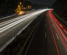 Autobahn bei Nacht-cc Kathrin Reinsch