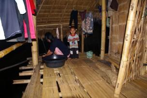 bambushütte, thailand, asienreise,