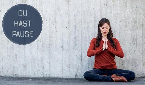 Meditations-App, App, Alltag, Pause