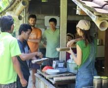 Herstellung IMO, Permakultur, Bali, Jiwa Damai, Green School