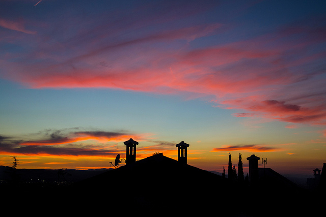 Sonnenuntergang-Javier Morales