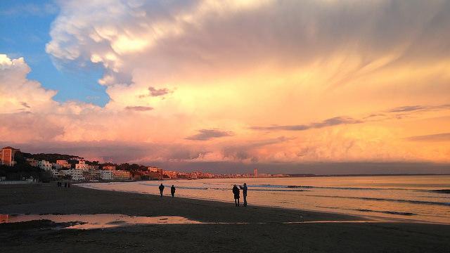 Sonnenuntergang-Martina TR-Anzio-Italien-CC BY