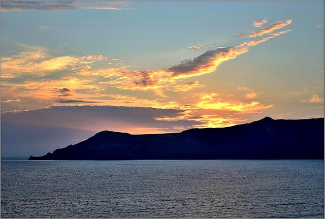 Sonnenuntergang-Robert Pittman-Thira-Griechenland-CC BY