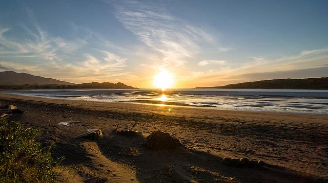 Sonnenuntergang-Tom Hall