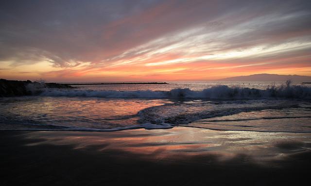 Sonnenuntergang-Tony Hisgett-Playa Fanabe, Kanarische Inseln, Spanien-CC BY