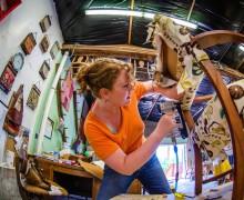 Kreativ-Retreat, Möbel restaurieren, Träume verwirklichen