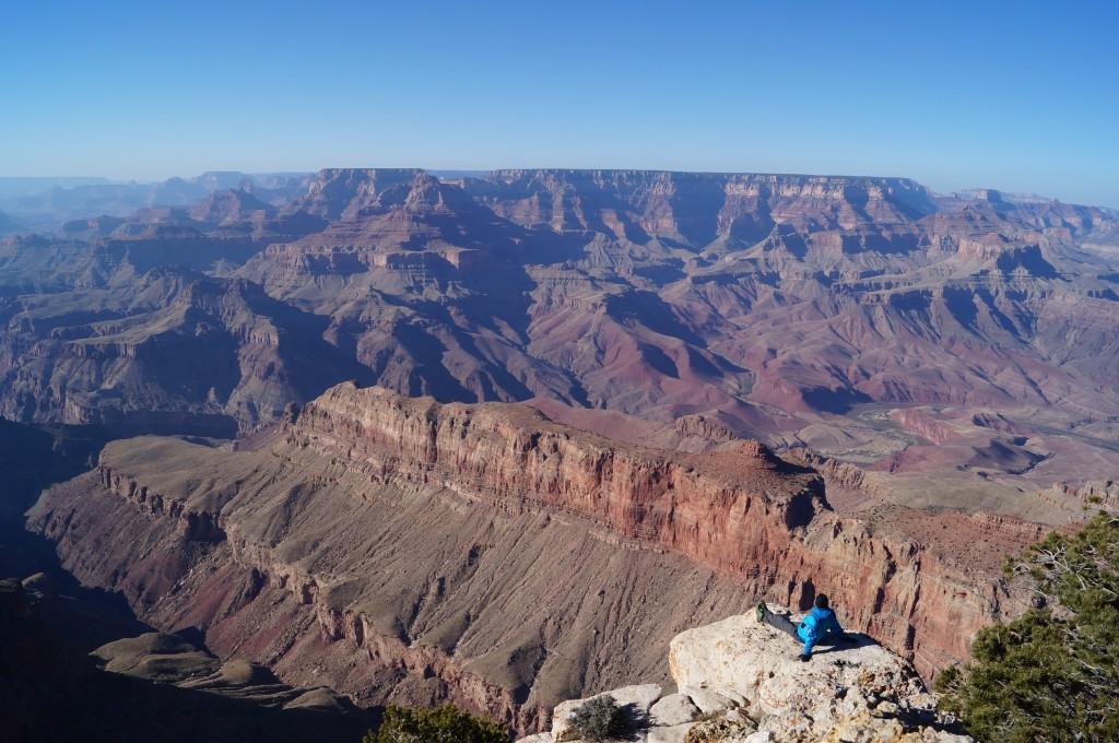 Peter Alexander Hackmair am Grand Canyon beim Träume verändern