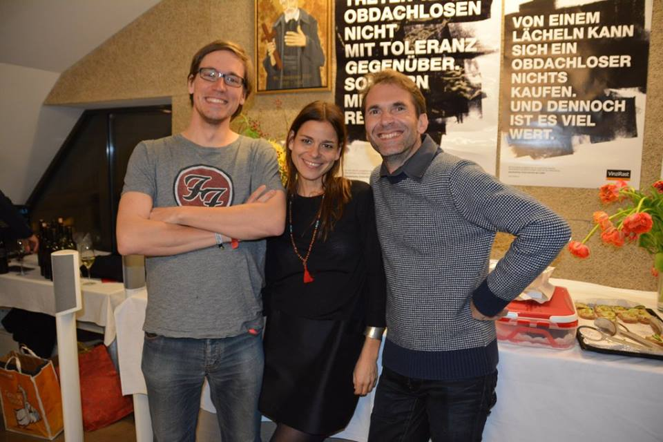 Die drei Gründer Alex, Katrin und Sascha sind glücklich. Jetzt kann es los gehen.