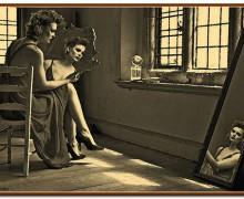 Frau im Spiegel, Wer bin ich wirklich? Lebensfrage, Berufung